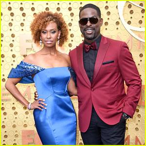 This Is Us' Sterling K. Brown Is Joined by Wife Ryan Michelle Bathe at Emmy Awards 2019!