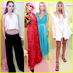 Suki Waterhouse & Sofia Richie Hit Up Alice + Olivia's NYFW Event