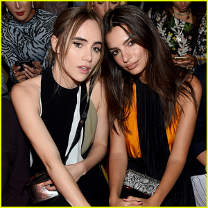 Suki Waterhouse & Emily Ratajkowski Sit Front Row at Proenza Schouler Fashion Show