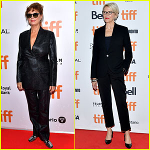 Susan Sarandon & Annette Bening Promote Projects at TIFF 2019!