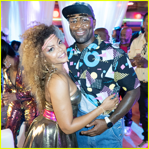 Taraji P. Henson Celebrates Her Birthday With '80s Themed Roller Skating Bash!