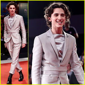 Timothee Chalamet Is Truly 'The King' of Fashion in Venice