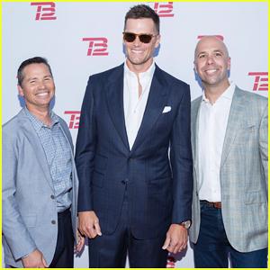Tom Brady Celebrates Grand Opening of New TB12 Fitness Center in Boston!