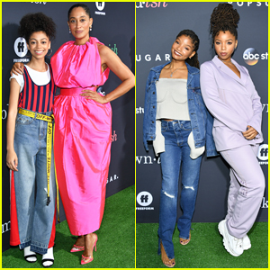 Tracee Ellis Ross Brings 'mixed-ish' Worlds Together at Embrace Your Ish Party!