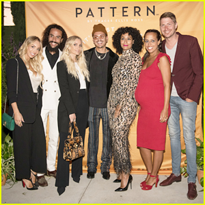 Tracee Ellis Ross Gets Sibling Support at Pattern Beauty Launch Party!