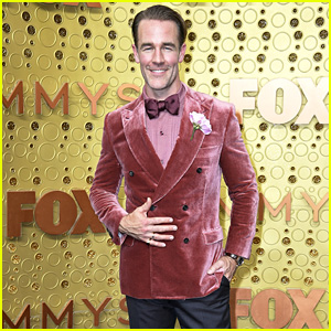 James Van Der Beek Rocks a Velvet Jacket at Emmy Awards 2019