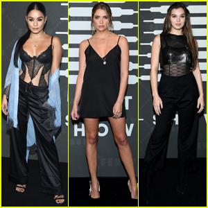 Vanessa Hudgens, Ashley Benson, & Hailee Steinfeld Arrive in Style for Rihanna's Savage X Fenty NYFW Show