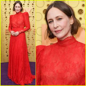Vera Farmiga Ravishes in Red for Emmy Awards 2019