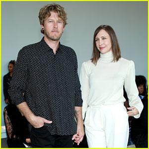 Vera Farmiga Wears All White for Ryan Roche's NYFW Show With Husband Renn Hawkey
