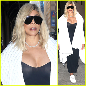 Wendy Williams Steps Out Looking Stylish After Announcing Her Show's Renewal