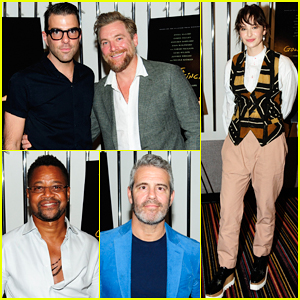 Zachary Quinto, Cuba Gooding Jr. & More Step Out for 'The Goldfinch' NYC Screening!