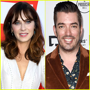 Zooey Deschanel Is Dating 'Property Brothers' Star Jonathan Scott!
