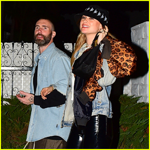Adam Levine & Behati Prinsloo Couple Up at Star-Studded Birthday Party