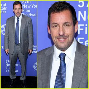 Adam Sandler Addresses Oscar Buzz at 'Uncut Gems' New York Film Festival Premiere