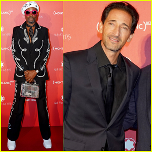 Adrien Brody Joins Billy Porter at Montblanc (Red) Launch Party!