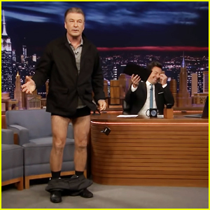 Alec Baldwin Drop His Pants on 'Tonight Show' To Reveal His Weight Loss - Watch Here!