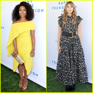 Angela Bassett & Elizabeth Olsen Show Their Support at The Rape Foundation Brunch