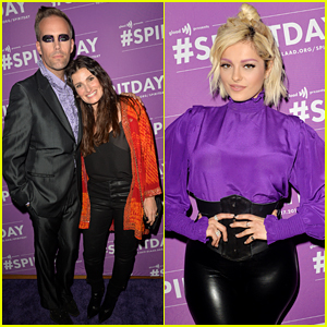 Bebe Rexha & Idina Menzel Join Justin Tranter for Spirit Day Concert