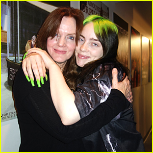 Billie Eilish Hugs Mom Maggie Baird So Tight at Groundlings Anniversary Show