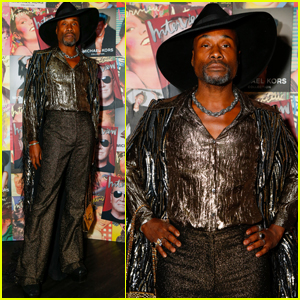 Billy Porter Celebrates 'Michael Kors' Studio 54 Collection in NYC