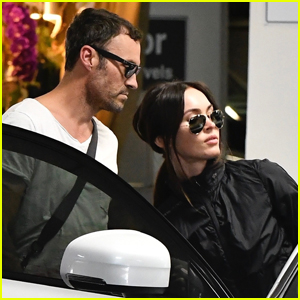 Brian Austin Green & Megan Fox Couple Up for Morning Pilates Class