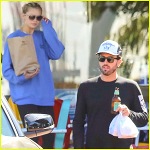 Brody Jenner & Girlfriend Josie Canseco Grab Breakfast in Malibu