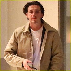 Brooklyn Beckham Attends Halloween Parties With Alex Wolff