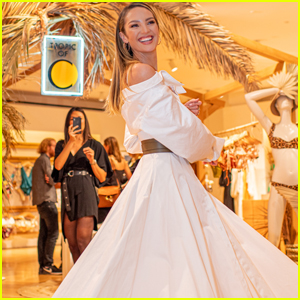 Candice Swanepoel Celebrates Her New 'Tropic of C' Collection!