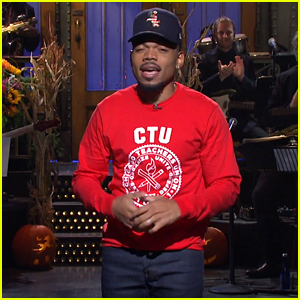 Chance the Rapper Supports Chicago Teachers on Strike During 'SNL' Monologue - Watch!