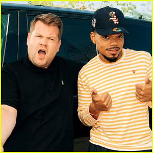 Chance the Rapper's Carpool Karaoke Includes a Rap Lesson for James Corden - Watch Now!