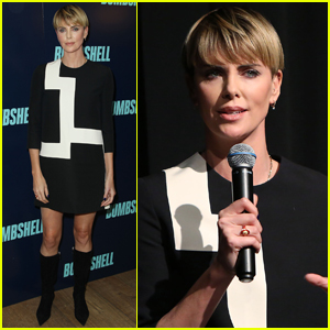 Charlize Theron Attends 'Bombshell' Screening in NYC