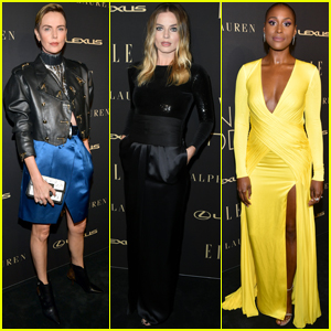 Charlize Theron, Margot Robbie & Issa Rae Show Their Style at Elle Women in Hollywood Celebration!