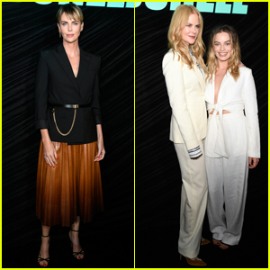 Charlize Theron Joins Nicole Kidman & Margot Robbie at 'Bombshell' Screening!