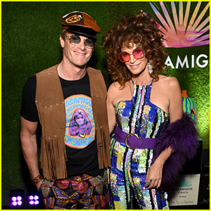 Cindy Crawford & Rande Gerber Go Back to the 60s for Casamigos Halloween Party!