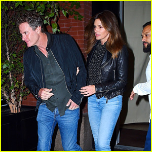 Cindy Crawford & Rande Gerber Head Out After Dinner Together in NYC