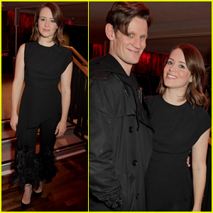 Claire Foy & Matt Smith Celebrate New Play 'Lungs' in London