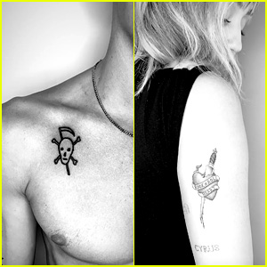 New Couple Cody Simpson & Miley Cyrus Get Tattoos Together in LA!