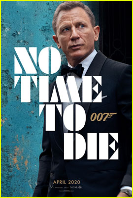 Daniel Craig Looks Dapper as James Bond for First 'No Time to Die' Poster