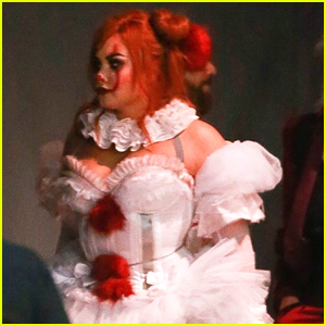 Demi Lovato Dresses Up As Pennywise For Her Halloween Party