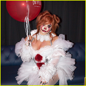 Demi Lovato Hosts Her 4th Annual Halloween Party As Pennywise!
