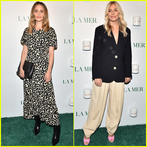 Dianna Agron & Sienna Miller Arrive in Style for La Mer Event