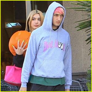 Dua Lipa & Boyfriend Anwar Hadid Stock Up for Halloween