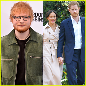 Prince Harry & Meghan Markle Team Up With Ed Sheeran For World Mental Health Day
