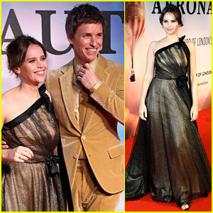 Eddie Redmayne & Felicity Jones Premiere Their Movie 'The Aeronauts' in London!