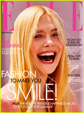 Elle Fanning Says She Feels Most at Home on the Red Carpet