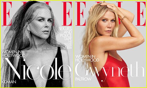 Nicole Kidman & Gwyneth Paltrow Cover Elle's Women in Hollywood Issues!