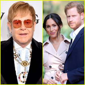 Elton John Praises Prince Harry & Meghan Markle for Their Fight Against Tabloid Press