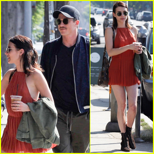 Emma Roberts & Garrett Hedlund Meet Up with Friends for Lunch!