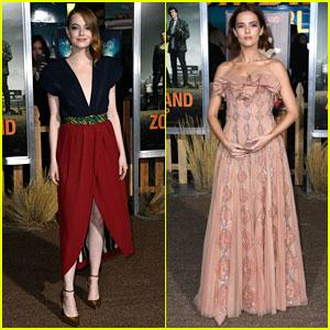 Emma Stone, Zoey Deutch, & More Attend 'Zombieland 2' L.A. Premiere!