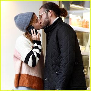 Emma Watson Kisses New Mystery Boyfriend in London